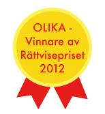 Medalj: OLIKA vinnare av rättvisepriset 2012